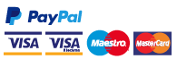 Safe and secure payment with Paypal